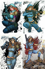 Lola XOXO: Wasteland Madam Complete C Cover Incentive Set 1-4 Aspen 9.4 NM