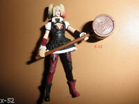 HARLEY QUINN toy FIGURE dc multiverse FEMALE joker lover ARKHAM KNIGHT villain