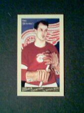 GORDIE HOWE  GOODWIN CHAMPION INSERT MINI CARD  SP