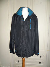Shower-Resist Jacket Lightweight Hood Coat Size M