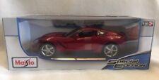 1:18 Maisto Corvette Sting Ray American Muscle Sport Super Auto (ULTIMA) (ROSSO)
