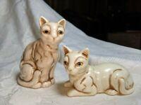 Vintage UCGC Taiwan Siamese Cat Figurine pair