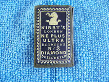 Ancien étui Aiguille Kirby's couture mercerie Needle Sewing Nadeln sharp