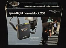 Calumet 900 Speedlight Powerblock with Chargers Shoulder Strap, Intructions-Used