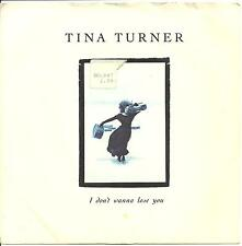 Tina Turner - I Don'T Wanna Lose You - 1989 Capitol - Eighties Pop Rock Ballad