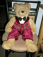 "Kids Of Americas Corp.Vintage Teddy Bear 21"" Excellent Condition"
