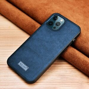 Ultra Slim Leather Texture Shockproof Phone Case For iPhone 13 12 11 Pro Max XR