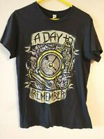 "Mens ""Day To Remember"" Band T-Shirt Size Medium. Black Graphic"