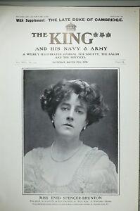 1904 PRINT MISS ENID SPENCER BRUNTON WYNDHAM'S THEATRE