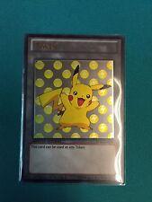 Pikachu and Raichu Tokens Custom Ultra Rare Yugioh Pokemon Token