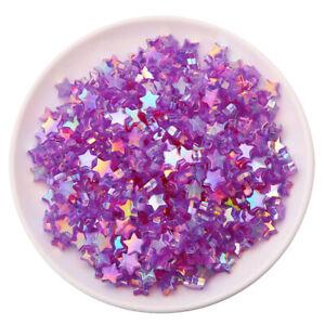 100PCS 10mm Acrylic Loose Beads DIY High Quality Star Popular Hot Sale Heart New