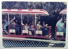 Vintage Photography PHOTO FAMILY STEAM TRAIN HOWARTH PARK SANTA ROSA CALIFORNIA