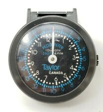 Taylor Canada Vintage Pedometer for Kilometer and Mileage Readings Universal