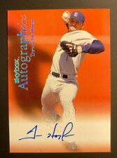 New Listing1999 Skybox Autographics Trevor Hoffman Signed Auto