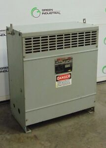 27 KVA DRY TYPE TRANSFORMER PRIMARY 460 DELTA SECONDARY 230Y/133 FH27CEMD FP