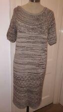 Genuine - CHLOE - Knit - Jumper Dress - Beige & Brown - Size S