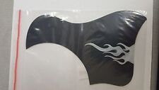 GuitarBoyZ Acoustic Black and Silver Pickguard