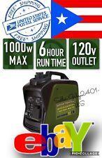 sportsman 1000 watt inverter generator GASOLINE FREE SHIPPING PUERTO RICO
