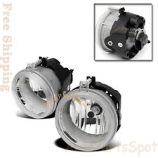 NEW Clear Lens Projector Fog Driving Lights Lamps Set For Chrysler Dodge Jeep