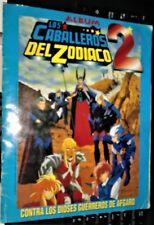 SAINT SEIYA KNIGHTS OF THE ZODIAC 2 - 1 FULL STICKERS ALBUM ARGENTINA YEAR 1996