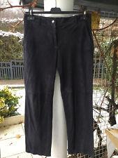 Pantalon Noir - Cuir/Daim - KOOKAI - Taille 36