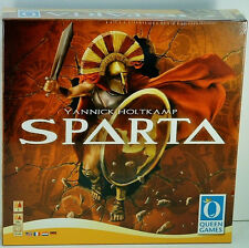 Sparta Strategy Board Game by Queen Games Yannick Holtkamp Spartans War Sealed