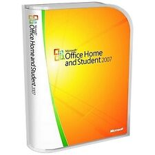 Microsoft Office Home and Student 2007 for 3x Pc's With Key