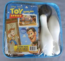 """NEW DISNEY TOY STORY BOWLING GAME RUG """"WOODY'S ROUNDUP"""