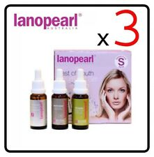 [ lanopearl ] 3 x Complete Serum Solution for Young Skin Gift Set 75mL