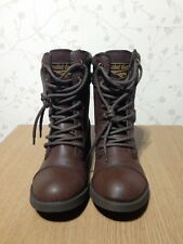 Size 4 Brown Rocket Dog Thunder Ladies Women's Girls Ankle Boots s Brand New