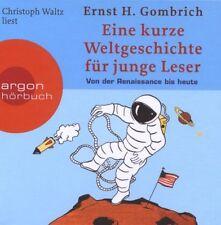 Weltgeschichte für junge Leser 2 Renaissance bis heute - 4 Audio CD Hörbuch NEU