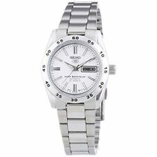 Seiko Mechanical Stainless Steel Band Wristwatches