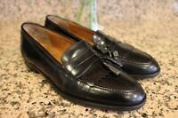 CHURCH'S Men's Black Leather Rima Classic Tassel Loafer Shoes Size 9.5M (MEN600