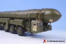 Tetra Model 1/72 Russian ICBM Launcher TOPOL Detail-up Set for Zvezda kit