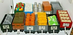 TOMY TRACKMASTER THOMAS  TROUBLESOME TRUCKS FREIGHT & CARGO CARS