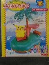 Tomy Pokemon Mate Island Pikachu Figure Plush Diorama Pocketmonster 1999 Plush