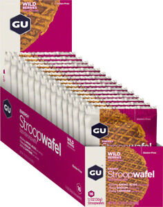 GU Stroopwafel: Wild Berry, Box of 16
