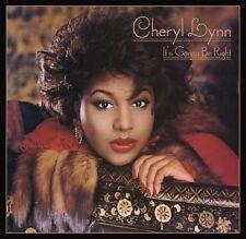 Cheryl Lynn - It's Gonna Be Right   New cd   Remastered + bonustrack Jam & Lewis