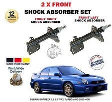 1.6 per Subaru Impreza 2.0 WRX turbo AWD 2000 - > NUOVO 2x Set AMMORTIZZATORE ANTERIORE
