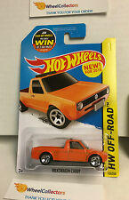 Volkswagen Caddy #124 * ORANGE * Hot Wheels 2015 * WK1