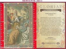 C143 SANTINO HOLY CARD S. ALESSIO SANT'ALESSIO DI EDESSA CONFESSORE 17 LUGLIO