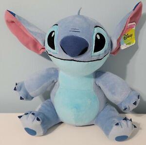 "Disney 13"" Lilo And Stitch Plush Sitting Stitch the Dog Stuffed Animal NWT"