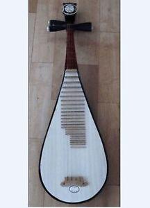 Hot Pipa (Chinese 4-stringed lute, Biwa musical instrument)