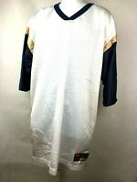 St. Louis Los Angeles Rams NFL Football Jersey Throwback Blank White *Imperfect*