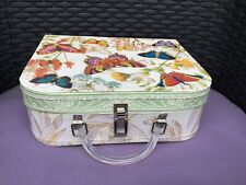 PUNCH STUDIO BUTTERFLY WEDDING SUITCASE CARD BOX