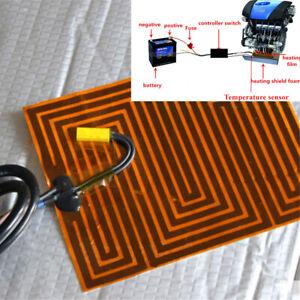 12V Car Engine Parking Heater Pre Warmer Preheating Oil Digital Remote Control