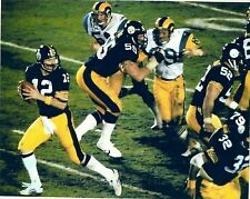 TERRY BRADSHAW PITTSBURGH STEELERS TD PASS SUPER BOWL XIV COLOR 8X10