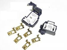2 EA  H4 / 9003  CERAMIC HEADLIGHT CONNECTOR PLUGS