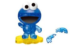 CRYSTAL GALLERY SESAME STREET COOKIE MONSTER BLUE ELMO 3D JIGSAW PUZZLE 40PCS