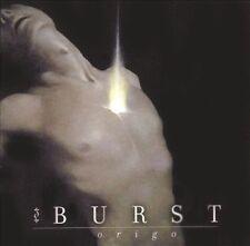 Burst - Origo (CD, 2005, Relapse Records) Swedish Progressive/Post-Metal, NEW
